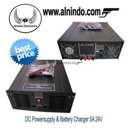 Power Supply Battery Charger 5A 24V Altron