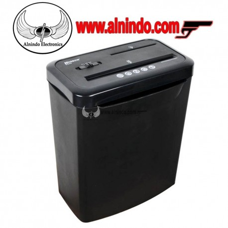 KRISBOW Paper Shredder S340 8 Sheet Black