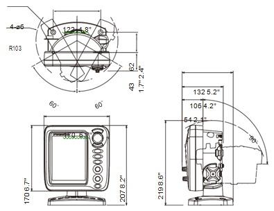 spesifikasi furuno fcv 688 unit display